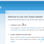 How to change your password in Drupal